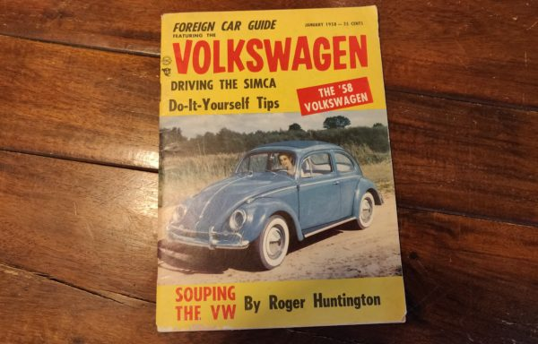 1958 Foreign car guide Volkswagen edition