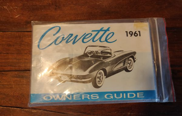 "Corvette 1961 ""owners guide"""