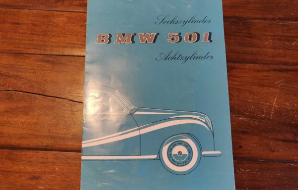 BMW 501 brochure