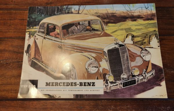 Mercedes-benz typ 220 brochure