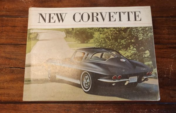 "1962 Corvette brochure ""New corvette"""