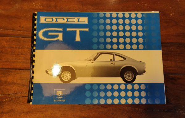 1968 Opel GT information guide