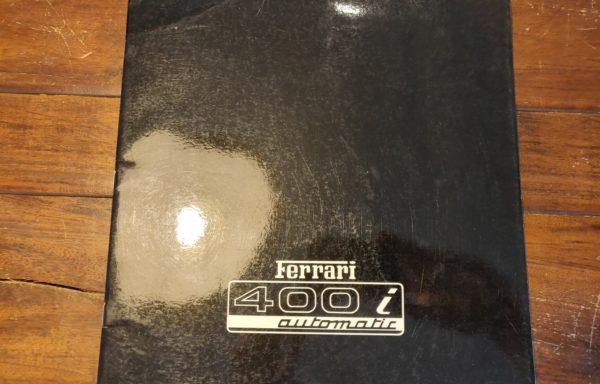 Ferrari 400i brochure