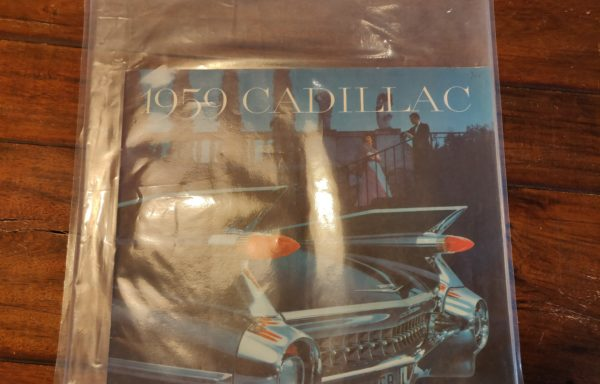 1959 Cadillac brochure for multiple models