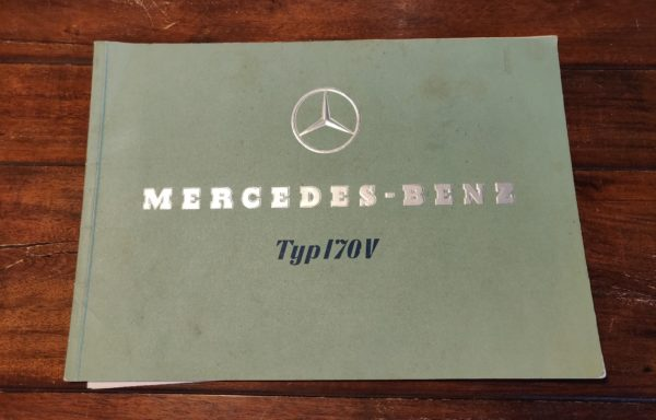 Mercedes-Benz Typ 170 V brochure