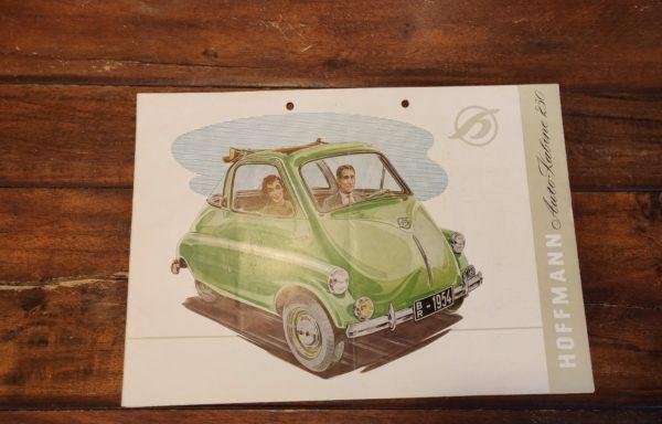 Hoffmann Auto-kabine 250 brochure