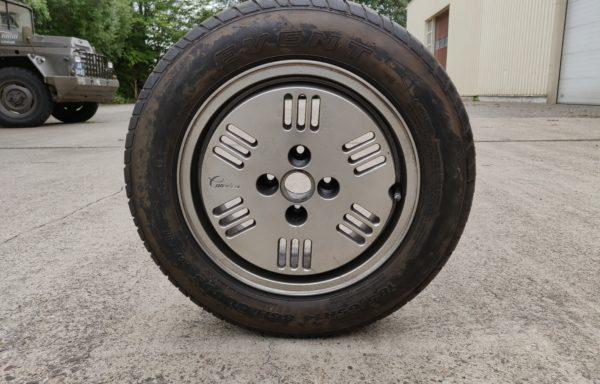 """14"""" Aluminium Canonica velg + 2 banden voor Fiat, Alfa of Lancia (6Jx14H2)"""