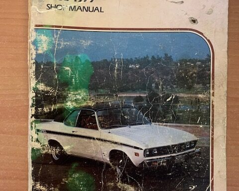 Opel shop manual