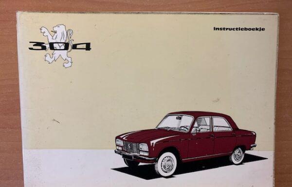 Peugeot 304 instructieboekje