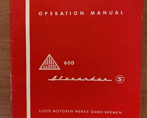 LLoyd 600 operation manual