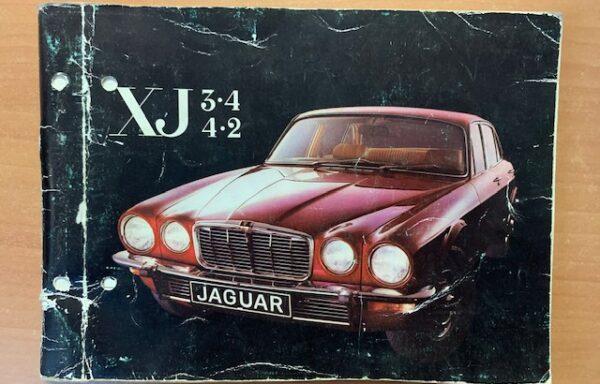 Jaguar XJ 3.4/4.2 instructieboekje
