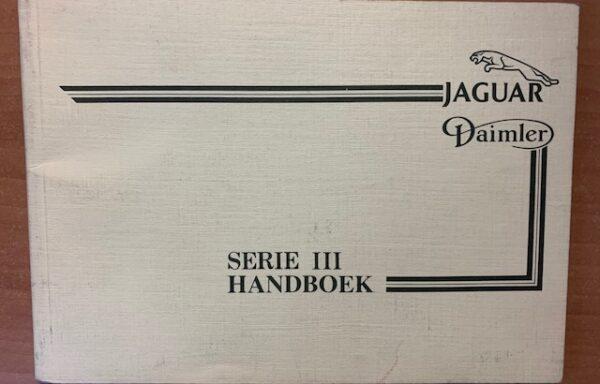 Jaguar Daimler Serie III handboek