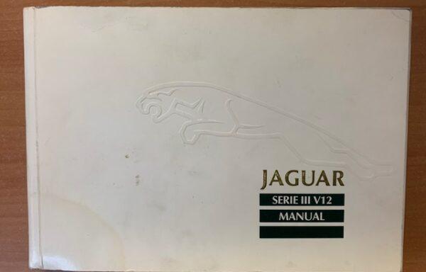 Jaguar Serie III V12 handboek